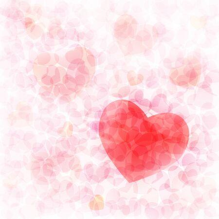red heart texture valentine background Stock Photo