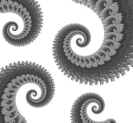 enclose: black and white swirl texture background