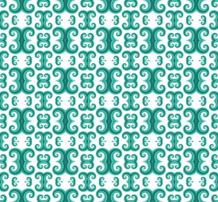 green pattern background Stock Photo - 15787875