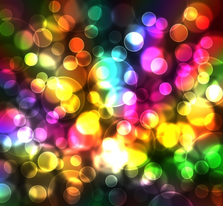 colorful light behind glass texture christmas background photo