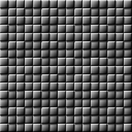 revolve: abstract 3d square texture