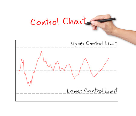 business hand writing control chart