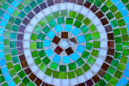 table top: Mosaic table top
