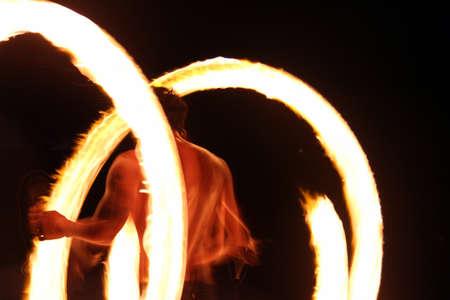 koh samet: Fire Dancer in Koh Samet, Thailand