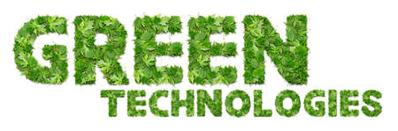GREEN technologies Stock Photo - 17120399