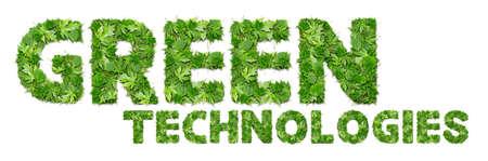 GREEN technologies Stock Photo - 17120399