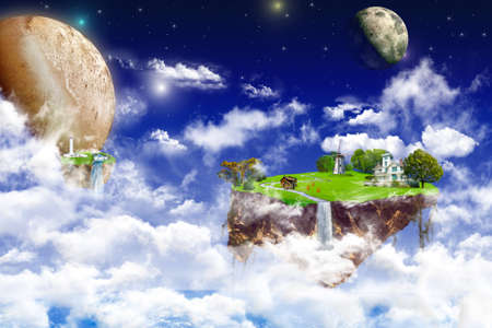 utopian: A little imagination. look in the utopian world.