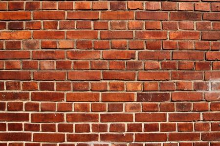 mattoncini: Vecchio muro di mattoni rossi trama di riempimento telaio