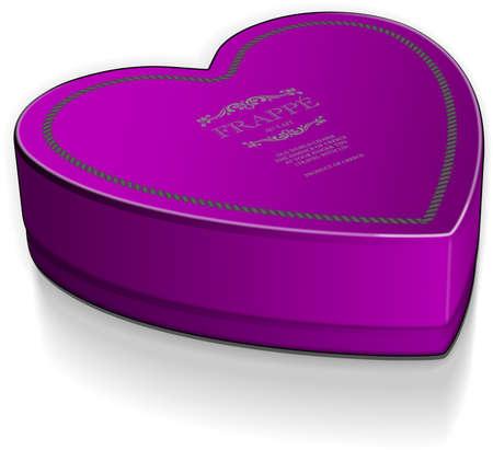 heart box vector