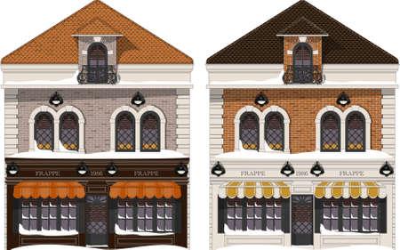 colonial: colonial home facade vector illustration