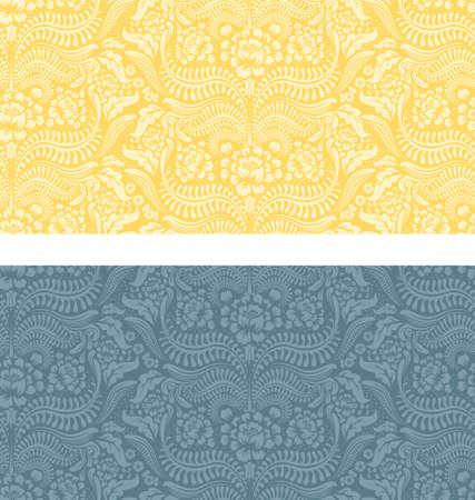 floral pattern set