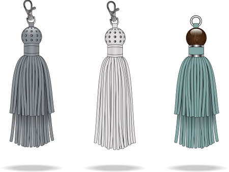 TASSEL ILLUSTRATION Иллюстрация