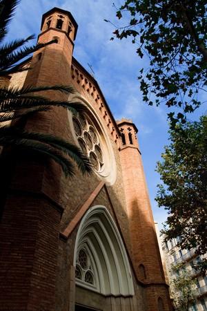 Old church Barcelona Spain