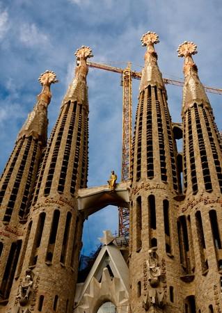 Sagrada Familia , Barcelona Spain