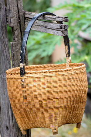 Basketwork Stock Photo