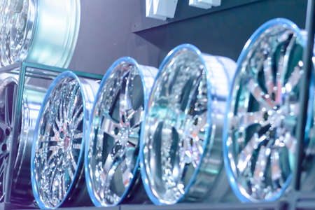 alloy wheel: Blur magnesium alloy wheel or mag wheel or max wheels of Car