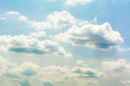 blue cloudy sky: Blue cloudy sky. Stock Photo
