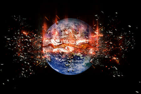 bombs: Planet World bombs.  Stock Photo