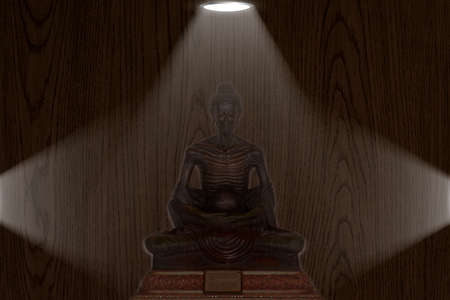 downlight: Buddha Pang asceticism  downlight