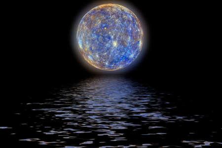mercury: Planet Mercury.