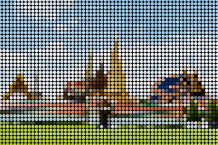 polka dot: Abstract Polka dot Stock Photo