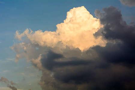 overcast: The skys overcast and shadow