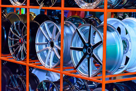 mag: Magnesium alloy wheel