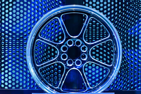 alloy: Magnesium alloy wheel