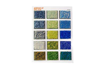 samples: Carpet samples