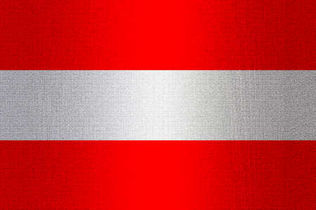 working stiff: Flag of Austria on a stone wall background.