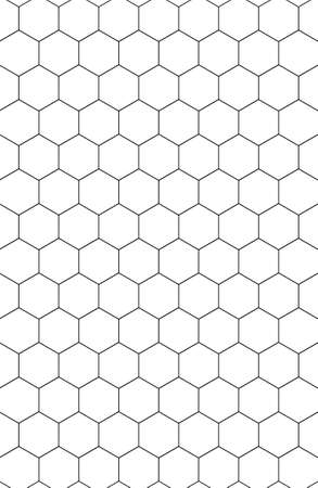 monocrome: Black & white abstract paterns. Its hexagon as honeycomb.