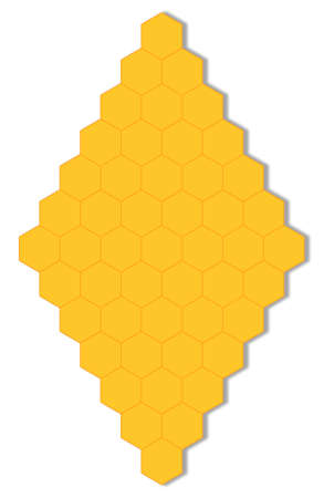 Color abstract paterns. Its hexagon. Its hexagon as honeycomb.