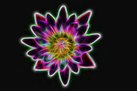 Abstrakt Glühdraht, Viele Farben Und Schön. Lizenzfreie Fotos ...