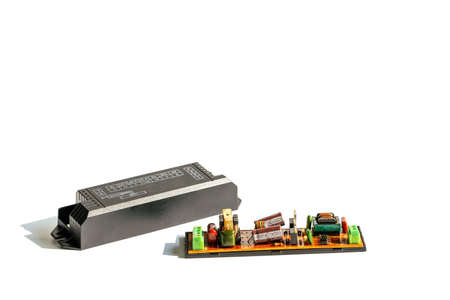 Electrical ballast is a device with limit the amount of current in an electrical circuit.