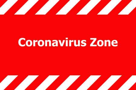 Coronavirus 2019-nCov outbreak concept as dangerous flu strain cases as a pandemic medical health. Coronavirus zone.