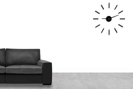 The modern living room. 3D design concept. Banco de Imagens - 145394109
