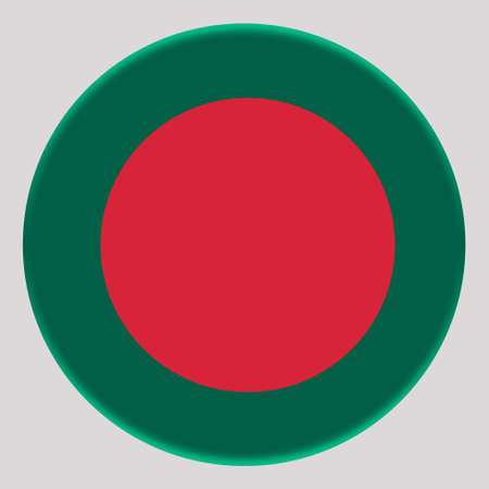 3D Flag of Bangladesh on avatar circle.
