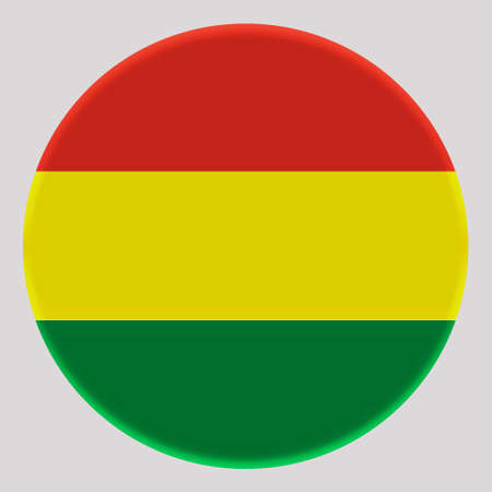 3D Flag of Bolivia on avatar circle.