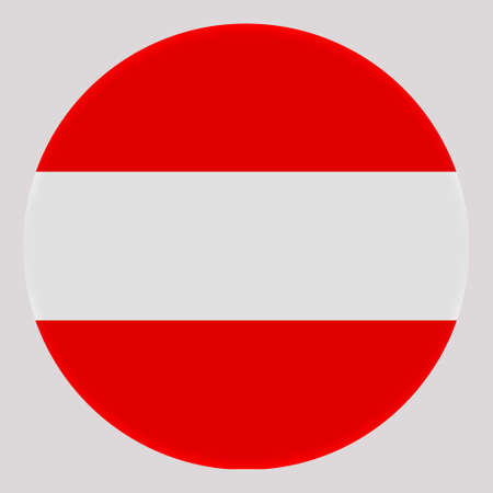3D Flag of Austria on avatar circle.