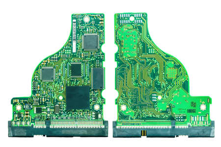 Front and rear of PATA Hard disk (HDD IDE)