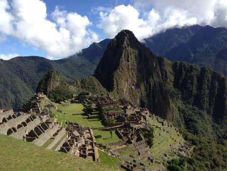 マチュピチュ ペルー 写真素材