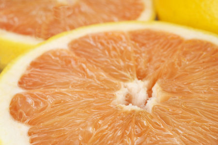 grapefruits: Fresh juicy grapefruits