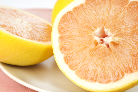 juicy: Fresh juicy grapefruits