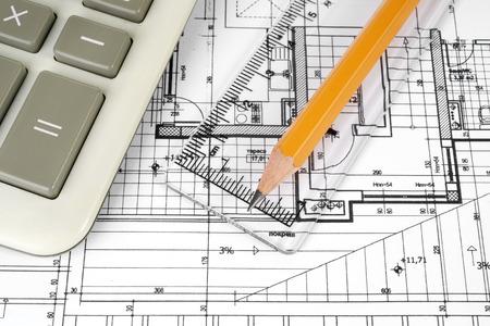 Architektonisches Projekt Standard-Bild - 35820228