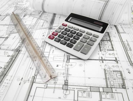 Architektonisches Projekt Standard-Bild - 35820765