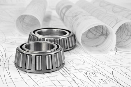 friction: roller bearings and drawings