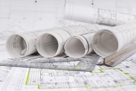 Architekturprojekt Standard-Bild - 35967976