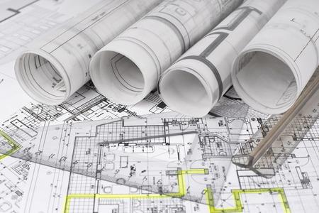 Architektonisches Projekt Standard-Bild - 35967977