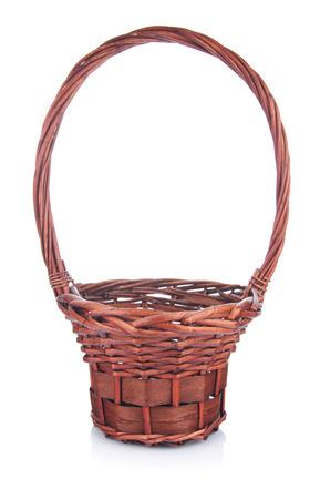 interleaved: Basket isolated on white background