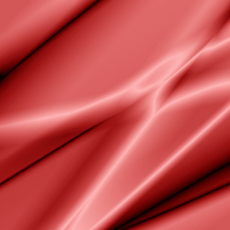 satiny cloth: background abstract waves illustration of wavy folds of silk texture satin